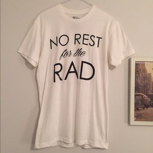 Tops - No Rest For The Rad Top Knott Goods Tee